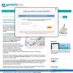 Si las residencias prescribiesen medicamentos mejoraría la gestión farmacéutica - Geriatricarea.com : Geriatricarea.com