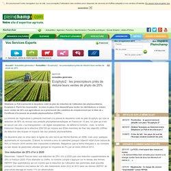 Ecophyto2 : les prescripteurs priés de réduire leurs ventes de phyto de 20%, Actualités générales