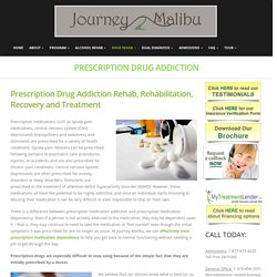 Prescription Drug Addiction – Journey malibu
