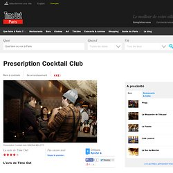 Prescription Cocktail Club