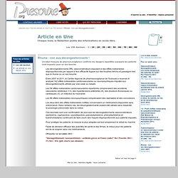 ''Rhume: non aux décongestionnants!''
