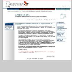 Ostéoporoseet vitamineD (1er mai 2014)