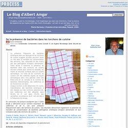 BLOG D ALBERG AMGAR 29/08/14 De la présence de bactéries dans les torchons de cuisine