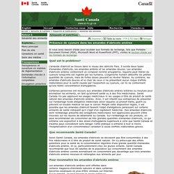 Présence de cyanure dans les amandes d'abricots amères [Santé Canada, 2009]