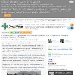 Corée du Sud : La présence d'un ancien dictateur lors d'une revue militaire indigne l'opinion publique