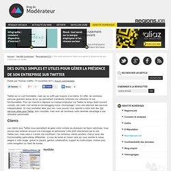 Des outils Twitter utiles pour sa marque employeur