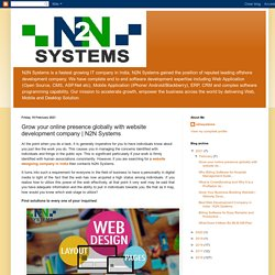 N2N Systems: Grow your online presence globally with website development company