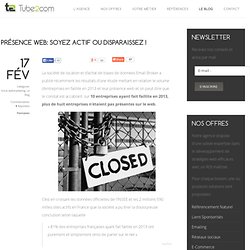 Présence web: soyez actif ou disparaissez !