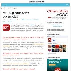 MOOC y educación presencial