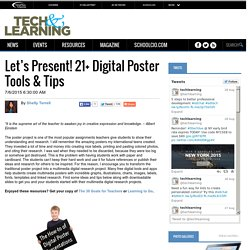 Let's Present! 21+ Digital Poster Tools & Tips
