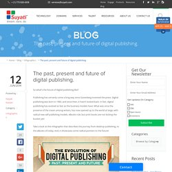 The past, present and future of digital publishing.