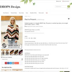 Past to Present / DROPS 205-1 - Free knitting patterns by DROPS Design
