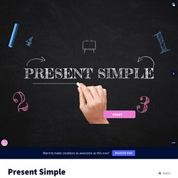 Present Simple by Clara Mingrino on Genially