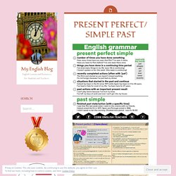 PRESENT PERFECT/ SIMPLE PAST