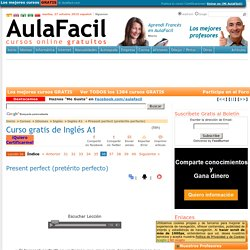 AulaFácil - Curso de Inglés