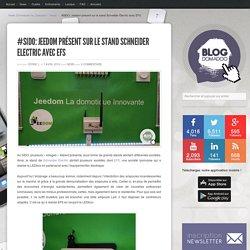 #SIDO: Jeedom présent sur le stand Schneider Electric avec EFS