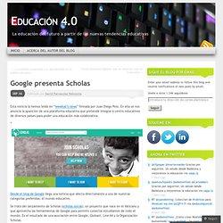 Google presenta Scholas
