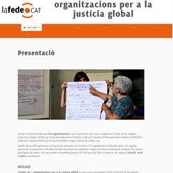 organitzacions per a la justícia global
