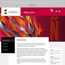 Presentación - Foro de Nebrija-Sgel