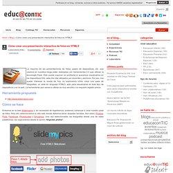 Cómo crear una presentación interactiva de fotos en HTML5