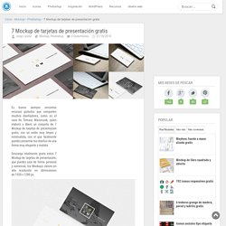 7 Mockup de tarjetas de presentación gratis - jorgelessin.com