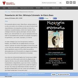 Presentación del libro 'Mitología Extremeña' de Hilario Bravo