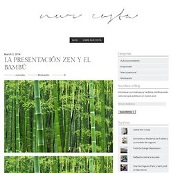 La Presentación Zen y el Bambú