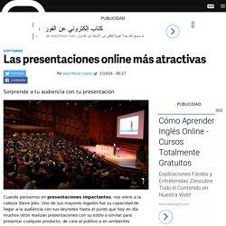 Cómo hacer presentaciones online atractivas con Emaze