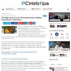 10 Apps para Crear Presentaciones Online atractivas y efectivas