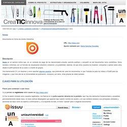 1. Presentaciones/Catálogos/Revistas/Ebooks : Issuu