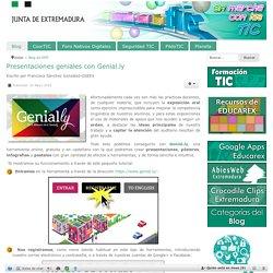 Presentaciones geniales con Genial.ly