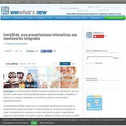 EverySlide, crea presentaciones interactivas con cuestonarios integrados