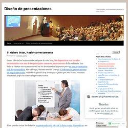 Cómo diseñar presentaciones efectivas y memorables