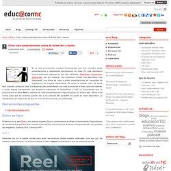 Cómo crear presentaciones online de forma fácil y rápida