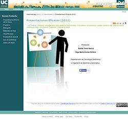 Presentaciones Eficaces (2012) — OCW Universidad de Cantabria