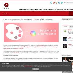 El Arte de Presentar – Llena tus presentaciones de color: Kuler y Colour Lovers