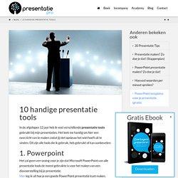 10 Presentatie Tools die ik je kan aanraden