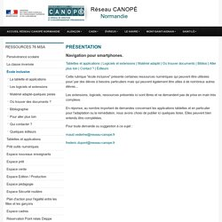 Sélection outils par Canopé Normandie