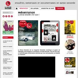 présentation - La Revue Dessinée