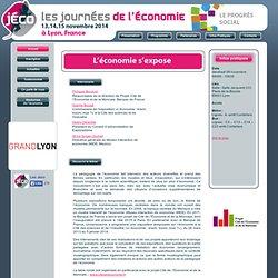 Journées de l'économie : Présentation activités
