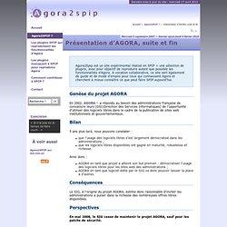 Présentation d'AGORA, suite et fin - Agora → SPIP
