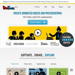 Create Animated Presentations Online
