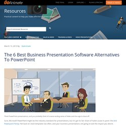 The 6 Best Business Presentation Software Alternatives To PowerPoint