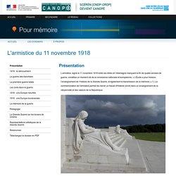 CNDP - L'armistice du 11 novembre 1918
