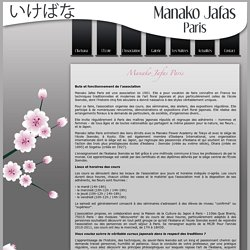 Manako Jafas Paris - Présentation de l'association