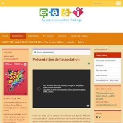 Présentation de l'association - Association EASI