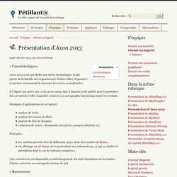 Présentation d'Axon 2013