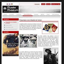 Présentation de la Bataille de Verdun - Mémorial de Verdun