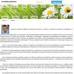 Luc Bodin présente