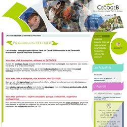 Présentation du CECOGEB - CECOGEB